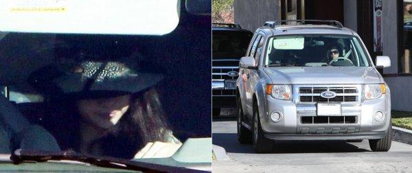 3 février : Selena et sa cousine achetant de quoi manger au jake in the box