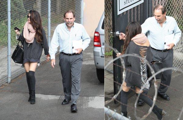 8 février : Selena à un studio d'enregistrement à Burbank, à L.A