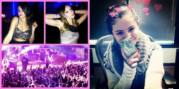 Photos twitter de Selena Gomez de ces derniers jours
