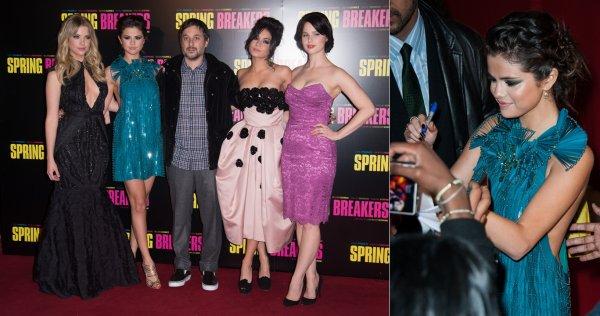 18 février : Les filles de Spring Breakers à l'avant-première de leur film à Paris