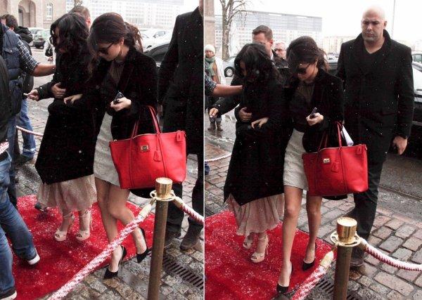 20 février : Les filles de Spring Breakers arrivant à leur hôtel à Berlin, en Allemagne