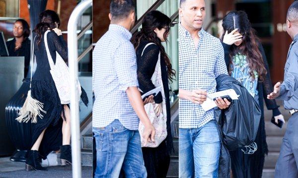 26 février : Selena arrivant à l'hôtel SLS à Beverly Hills