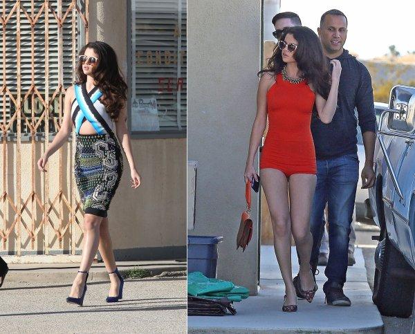 4 mars : Selena tournant son nouveau clip !