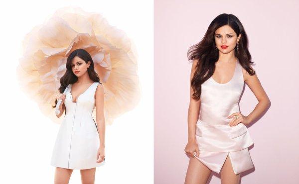 Selena dans la revue Harper's Bazaar du mois Avril