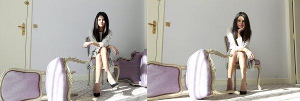 """Selena dans le magazine français """"Le Parisien"""""""