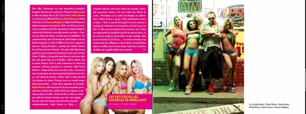 "Spring Breakers dans le magasine français ""Paris Match"""