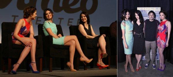 11 mars : Spring Breakers à une conférence de presse au festival du film à Austin, en Californie