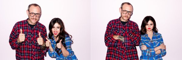 Photos de Selena Gomez avec Thierry Richardson