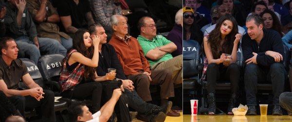 17 mars : Selena a un match de basket avec l'équipe des Los Angeles Lakers