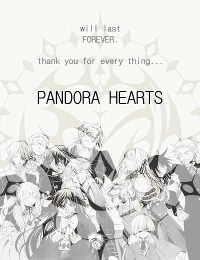 Les 10 commandements de Pandora Hearts
