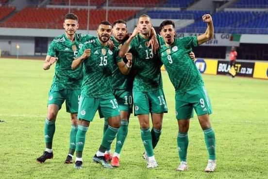 Équipe algéria 2021