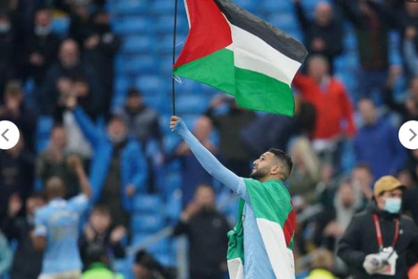 Vive Palestine et vive Mahrez 🇩🇿