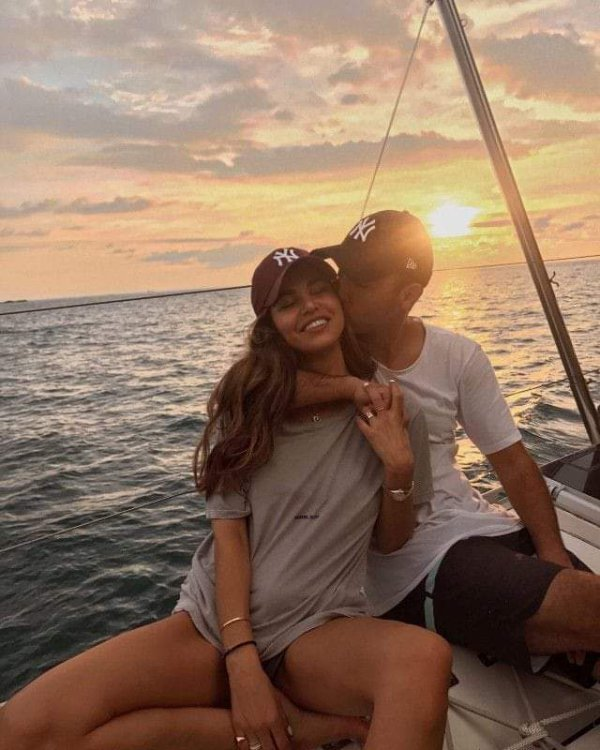 Magnifique coucher du soleil et super moment très romantique 🌠😘🌹