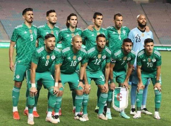 Équipe nationale Algérienne