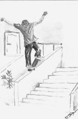 Petit Dessin De Skate Skater 54360