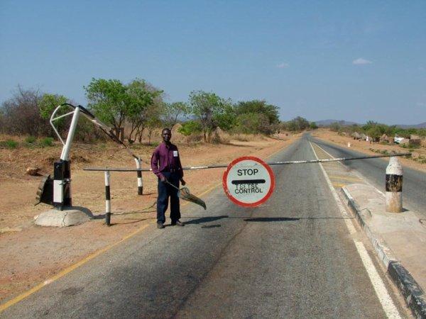 Près de Chongwe, Zambie
