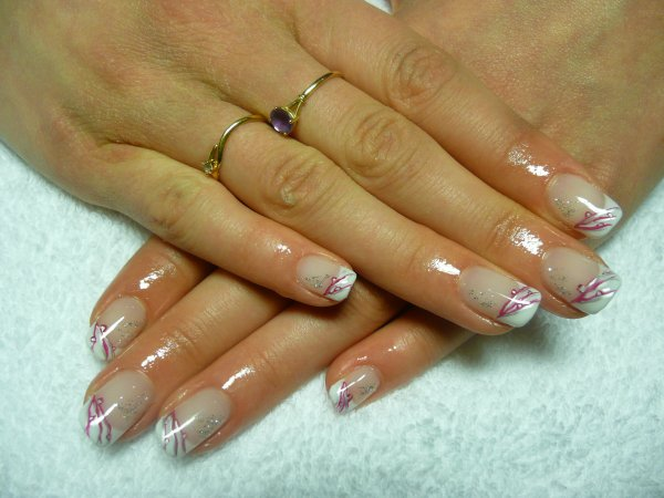 deco ongles naturel