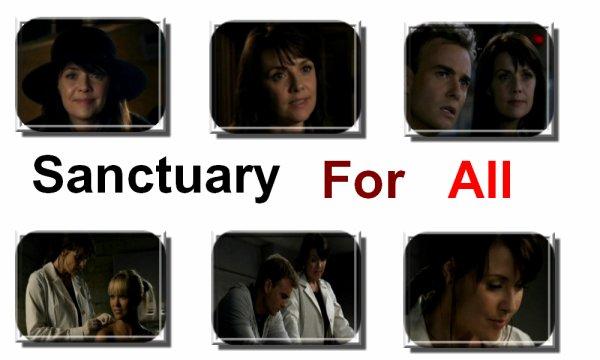 """Sanctuary Saison 1 Episode 1 & 2 """"Sanctuaire Pour Tous"""""""