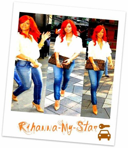 20 Juillet ~ Rihanna dans les rues de New York