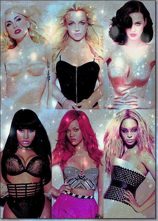 """» Voici quelques """" Stars Féminimes  """" du Rn'b : Choisissez votre   favorite !"""