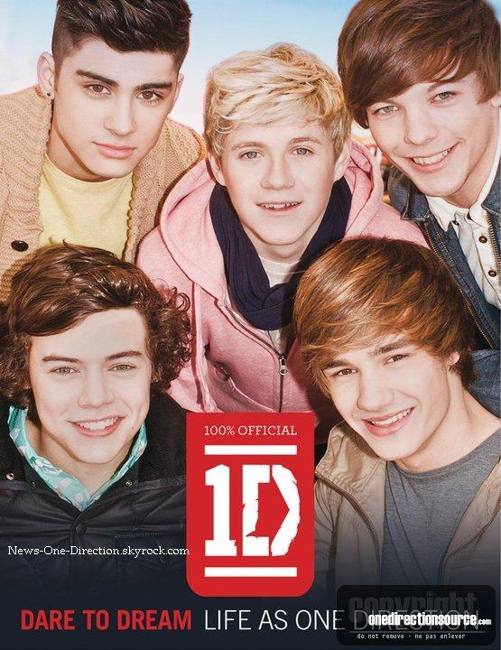 La nouvelle cover du book des One Direction. Enjoy it !