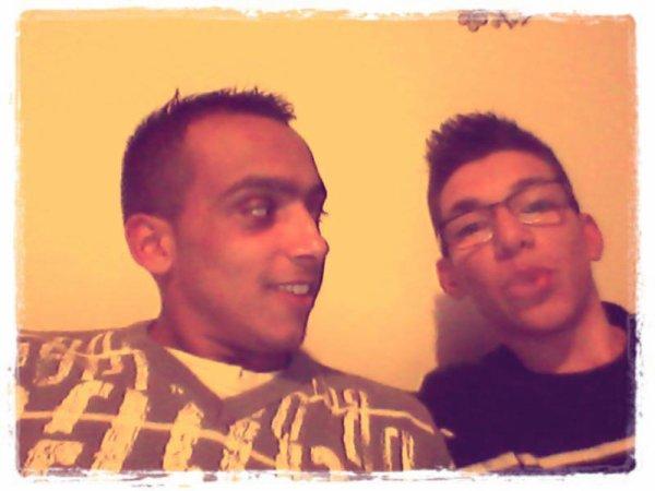 *yo i mi primo