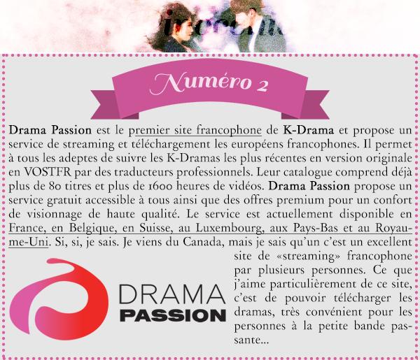 •~ Top 5 : Meilleur diffuseur de K-Drama en ligne ~•