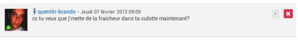 """J'aurais du appeler ce blog """"rateau.com"""""""