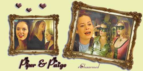 Piper & Paige. Création ♥