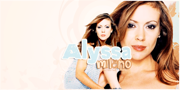 Alyssa Milano as Phoebe Halliwell. Création ♥