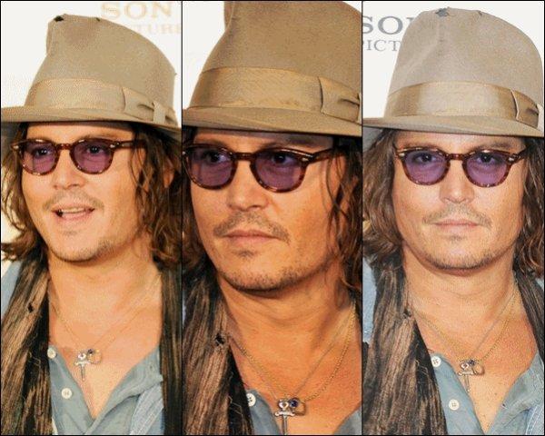 """Ce 5 Mars, notre Johnny international, c'est le cas de le dire, était au Japon pour la première là-bas de """"The Tourist"""" suivit d'une conférence de presse."""