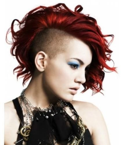 Emo Punk Girls Hairstyles | Colorful Emo Hairstyles | Emo Punk Indonesia | Beautiful Punk Haircut |