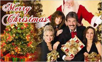 Happy Christmas Day | Merry Christmas Greeting | Real Christmas Trees |
