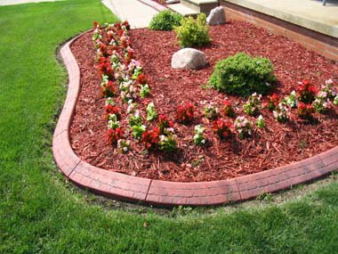 Flower Bed Edging | Flower Beds Landscaping | Flower Bed Ideas |