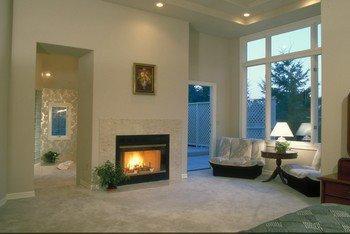 Fireplace Design Ideas | Wood Fireplace Design | Traditional Wood Fireplace | Stone Fireplace Design |