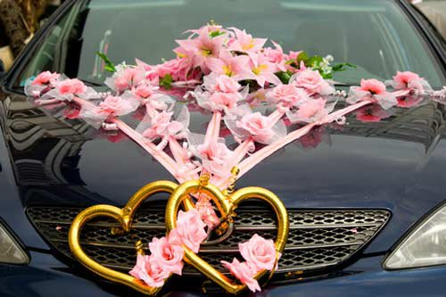 Wedding Car Design | Wedding Car Flowers | Wedding Decoration For CAR | Car Hire for Wedding |