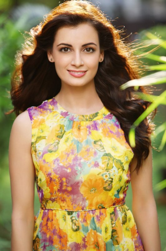 Beautiful Diya Mirza | Diya Mirza Saree | Diya Mirza Pictures | Diya Mirza Photos | Fashionable Diya Mirza | Diya Mirza Hairstyle |