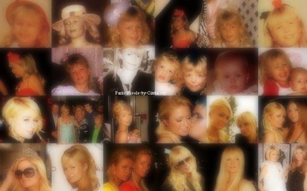 ♥ Photo provenant du twitter de Paris. Voici des photos de Paris H. & Nicky H. lorsqu 'elles étaient encore petites filles.