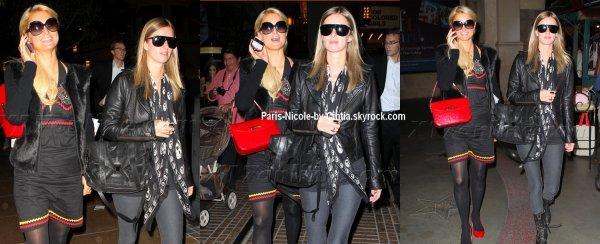 Paris et Nicky Hilton      vues à Los Angeles ....  La tenue de Paris laisse à désiré, pour Nicky c'est un top