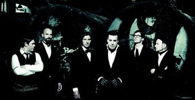 Le groupe Rammstein au complé