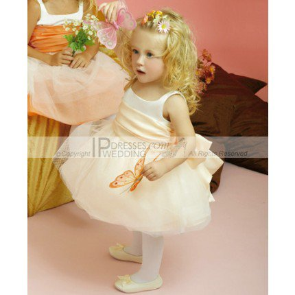 three Jewel  flower dresses for your flower girl