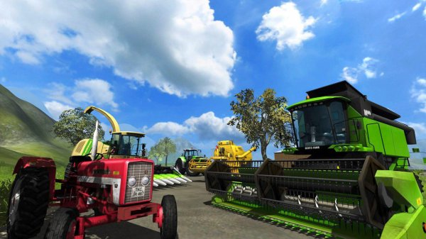 photos  de farming  simulator  2011