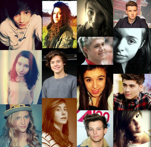One Direction family..