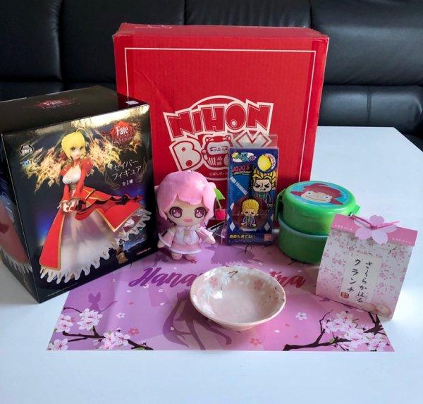 NihonBox d'Avril 2019