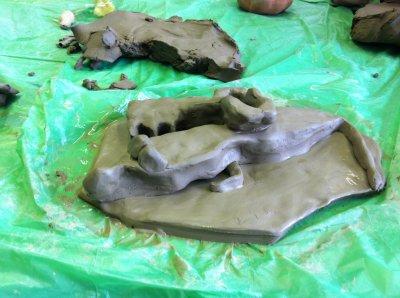 Making a sculpture