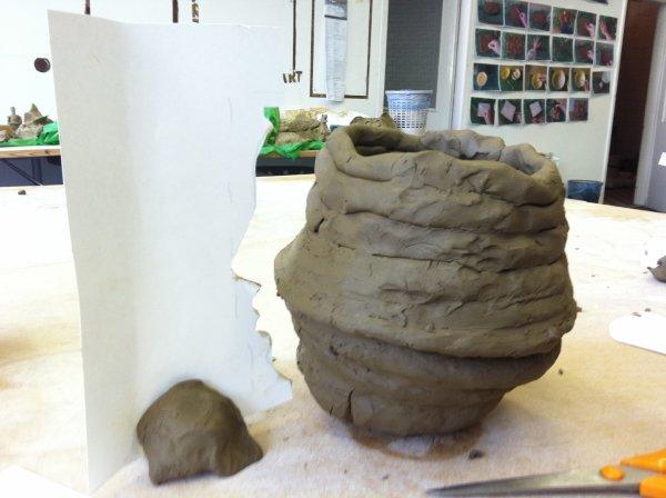 Making a vase