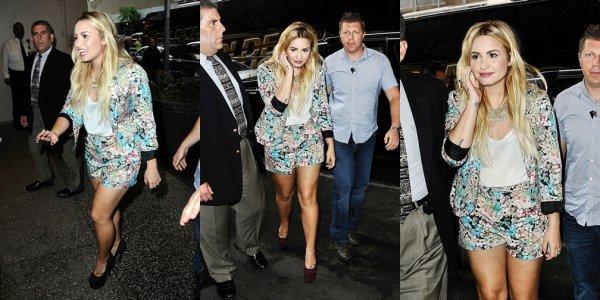 4 septembre : Demi Lovato sort dans New York :