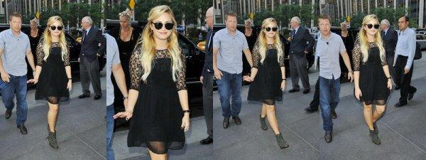5 Septembre : Demi Lovato dans New York :