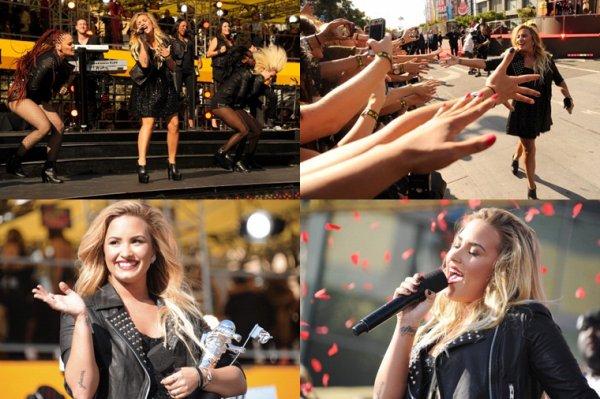 6 Septembre : Demi Lovato au Video Music Awards :