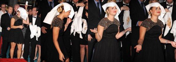 10 Septembre : Demi Lovato a la fête FOX